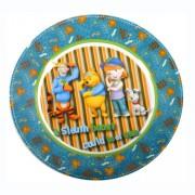 Micimackó Tigrises lapostányér - porcelán