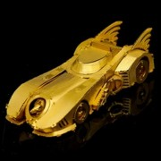 3D modelo de coche deportivo rompecabezas de murcielago - oro