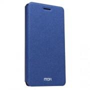MOFI Huawei P9 Lite Crazy Horse Texture Horizontal Flip Leather Case with Holder(Dark Blue)