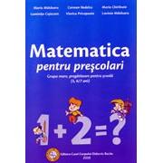 Matematica pentru prescolari - grupa mare, pregatitoare pentru scoala (5, 6/7 ani).