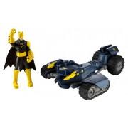 Batman Power Attack Figura + Vehículo - Bat-Tanque y Batman