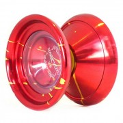 Magicyoyo K8 Nueva Gran aleacion de aluminio de Yo-Yo Toy - rojo + Oro