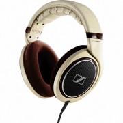 Sennheiser HD 598 Over Ear Headphones - Cream/Brown