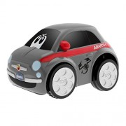 Chicco - Coche Turbo Touch Fiat 500, color gris (00007331000000)