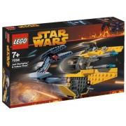 LEGO Star Wars 7256 Jedi fighter & Vulture Droid - Caza Jedi y Droide Buitre