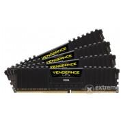 Memorie Corsair Vengeance LPX Black 16GB DDR4 Kit 4x4GB 2666MHz (CMK16GX4M4A2666C15, C15)