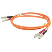 PATCHCORD PC-2LC/2LC-MM62 WIELOMODOWY DUPLEX 1mb 2xWTYK-LC/2xWTYK-LC
