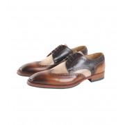 Giorgio Wingtip Schuhe Cognac - Cognac 42