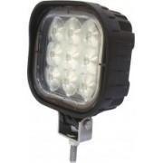 Lampa patrata - lumina de lucru FLOOD cu 9 LED-uri