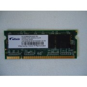 Mémoire Elixir 256 Mo DDR - SO DIMM 200 broches - 333 MHz - PC2700 - CL 2.5
