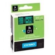 Dymo D1 Label Cassette 19mmx7m (SD45809) - Black on Green