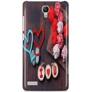 KSC Desgine Hard Back Case Cover For Xiaomi Redmi Red Mi Note Prime 4G