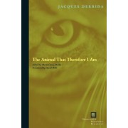 The Animal That Therefore I am by Jacques Derrida