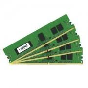 Mémoire RAM Crucial DDR4 16 Go (4 x 4 Go) 2400 MHz CL17 ECC SR X8 PC4-19200 - CT4K4G4WFS824A