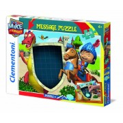 Clementoni 20234 - Message Puzzle Mike The Knight