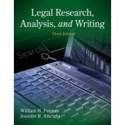 Legal Research, Analysis and Writing by Jennifer Albright