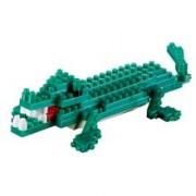 Crocodil. Set Constructie 3D Micro Cub - 200.033