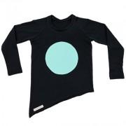 Bluza Ball (unisex) - negru, 1-2 ani