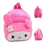 Cute Pink Melody Baby Bag Stuffed Soft Plush Toy