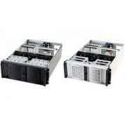 """fantec 19"""" Rechnereinschub, 4 HE, schwarz, ohne Netzteil (TCG-4860X07-1)"""