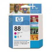 HP 88 Printhead Cyan and Magenta ( C9382A ) Ink Cartridge for Officejet Pro K550 Colour