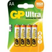 Baterie alcalina R6 (AA) 4 buc/blister Ultra GP