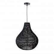 energie A++, Hanglamp Cable Drop - zwart, Zuiver