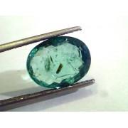 5.43 Ct Untreated Natural Zambian Emerald Gemstone Panna stone