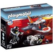 PLAYMOBIL Secret Agent Detection Jet Construction Set