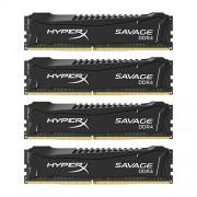 HyperX Savage DDR4 HX426C13SB2K4/32, Memoria RAM da 32 GB, 2666 MHz, DDR4, CL13 DIMM Kit (4x8 GB) XMP