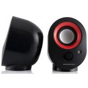 Boxe Modecom MC-XS5 negru+rosu