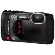 Aparat Foto Digital Olympus TG-870 TOUGH, 16 MP, CMOS, Filmare Full HD, Subacvatic, Rezistent la socuri, WiFi, GPS (Negru)