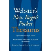 Webster's New Roget's Pocket Thesaurus by Editors Of Webster's New World College Dictionaries