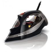 Philips GC4521/87 Fer Vapeur Azur Performer Plus noir avec guide cordon offert Puissance 2600 W Semelle T-ionicGlide