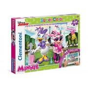 Clementoni 20701 - Minnie Puzzle, con App, 104 Pezzi