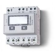 Finder 7E4684000012PAS - Contador trifásico de potencia digital 10 A 3 x 230 Vac Clase 1 / b