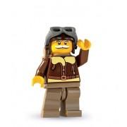 LEGO Minifiguras Coleccionables: Piloto Minifigura (Serie 3)