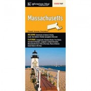 Universal Map Massachusetts State Map Fold Map (Set of 2) 14654