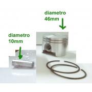 pistone completo per Oleomac 350