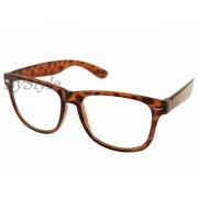 Okulary Wayfarer - panterka