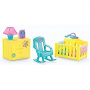 Dora The Explorer Playtime Together Dora and Me Dollhouse Deluxe Nursery Furniture