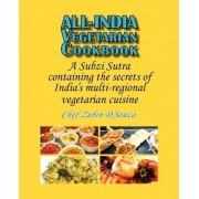 All-India Vegetarian Cookbook by Zubin D'Souza