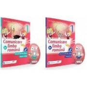 SET Comunicare in limba romana - Clasa a 1-a. Partea I + Partea II + CD - Iliana Dumitrescu Daniela Barbu