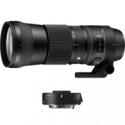 Sigma 150-600mm F/5-6.3 OS Nikon [C] kit Sigma TC-1401 1.4x