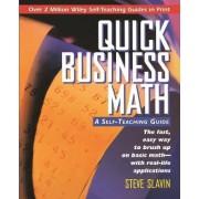Quick Business Math by Steve Slavin