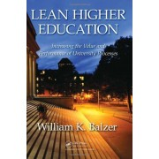 Balzer, W: Lean Higher Education