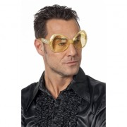Gouden disco feestbrillen
