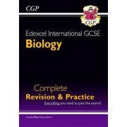 Edexcel International GCSE Biology Complete Revision & Practice with Online EDN. (A*-G) by CGP Books