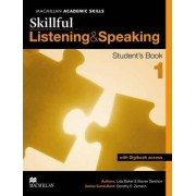 Skillful - Listening and Speaking - Level 1 Student Book + Digibook by Lida Baker