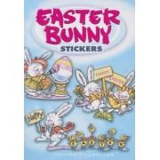 Easter Bunny Stickers by Diana Zourelias